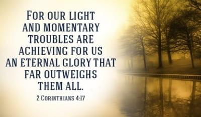 Daily Bible Verse About God's Eternal Glory - Bible Time - Bible Verses