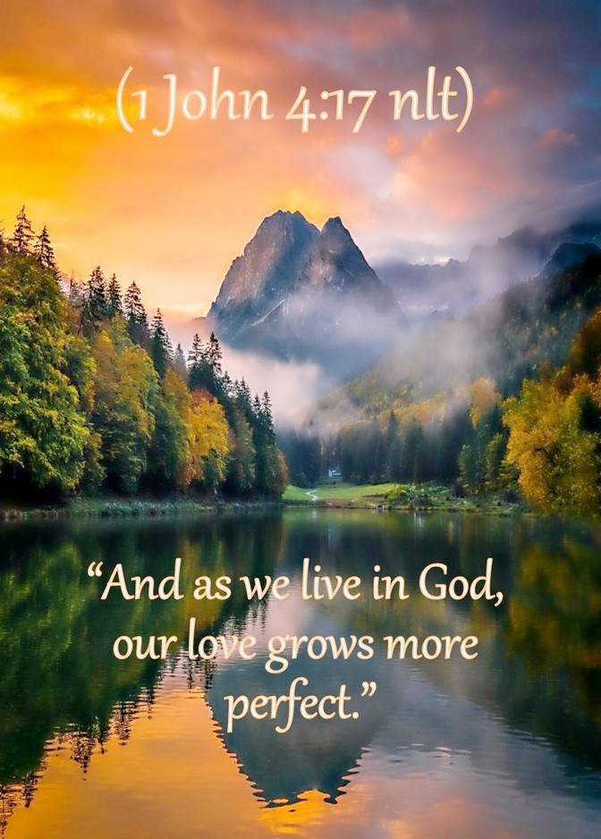 Daily Bible Verse About God Is Love - Bible Time - Bible Verses