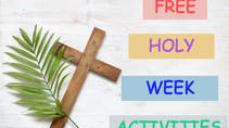 Part 1: Sacrifice Series | The Sacrifice of the Father | FREE Kids Holy Week Activities
