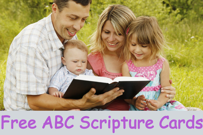 Five Fun Ways to Learn Bible Verses for Kids - Plus FREE ABC Bible Memory Verse Cards | Bible Time