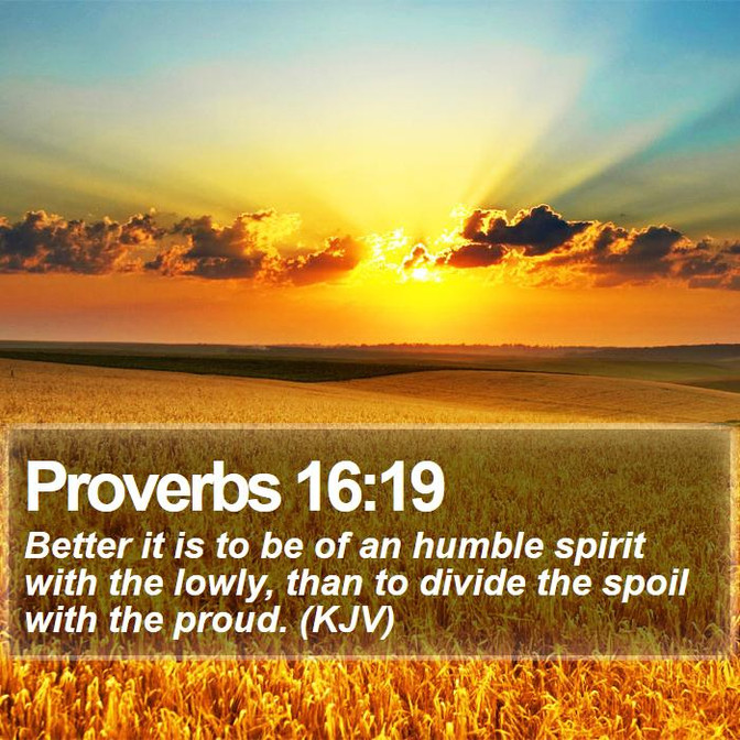 Daily Bible Verse On Humility - Bible Time - Bible Verses