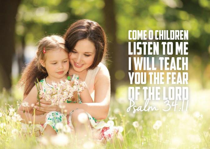 Daily Bible Verse For Parents - Bible Time - Bible Verses