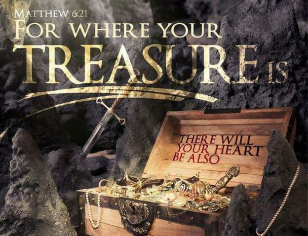 Daily Bible Verse About Earthly Treasures - Bible Time - Bible Verses