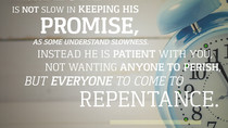 Daily Bible Verse On True Repentance - Bible Time - Bible Verses