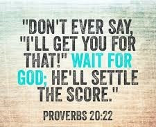 Daily Bible Verse About Revenge - Bible Time - Bible Verses