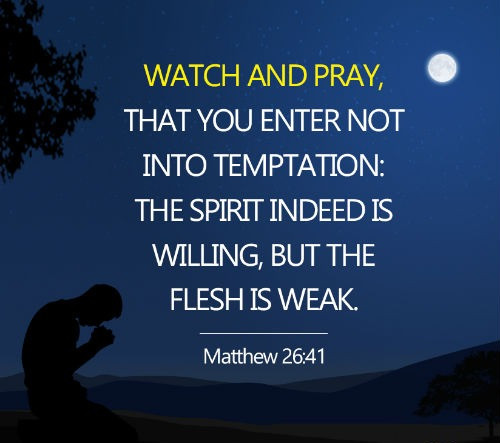 Daily Bible Verse About Resisting Temptation - Bible Time - Bible Verses