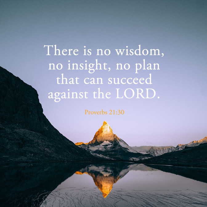 Daily Bible Verse About God's Plans vs Our Plans - Bible Time - Bible Verses