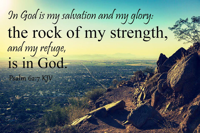 Daily Bible Verse About Refuge In God  - Bible Time - Bible Verses