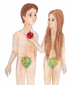 Childrens Bible activities adam and eve
