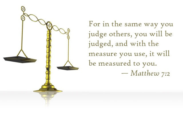 Daily Bible Verse About Judging Others - Bible Time - Bible Verses