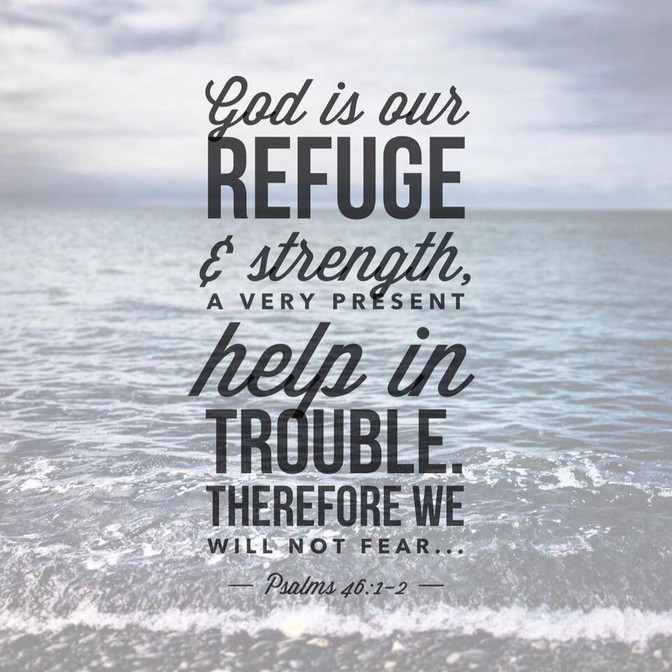 Daily Bible Verse On God Is Our Refuge - Bible Time - Bible Verses