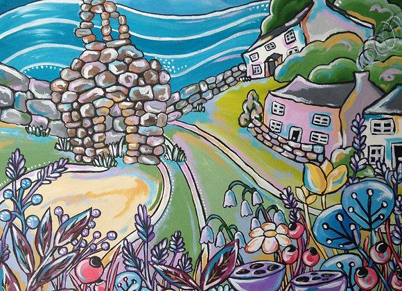 'Cwm Yr Eglwys Blooms'