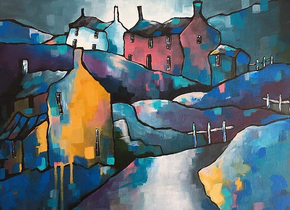 'Road to Abereiddy' 20% off marked price!