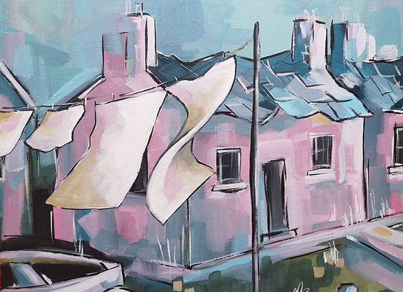 'Porthgain Cottage' 20% off marked price!