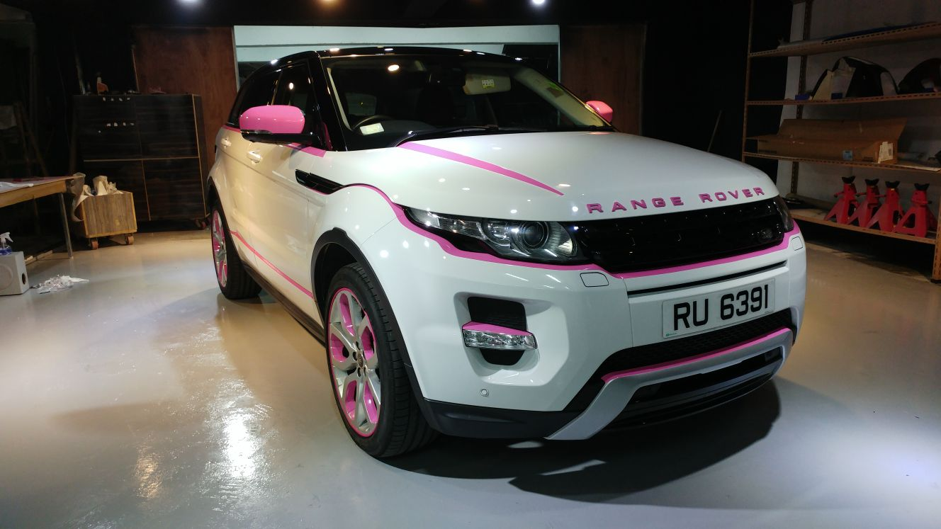 dubwrapz range rover