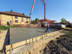 заливка бетона бетононасосом в йошкар оле