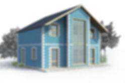 дом из теплоблоков 138 кв м