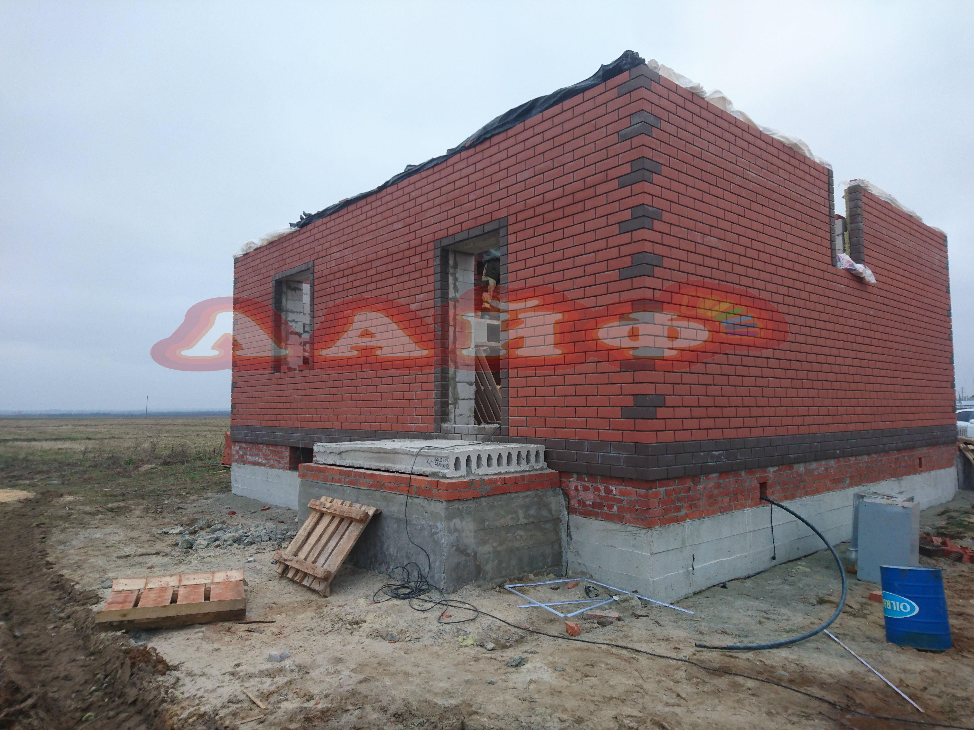 дом из кирпича с блоком в йошкар оле