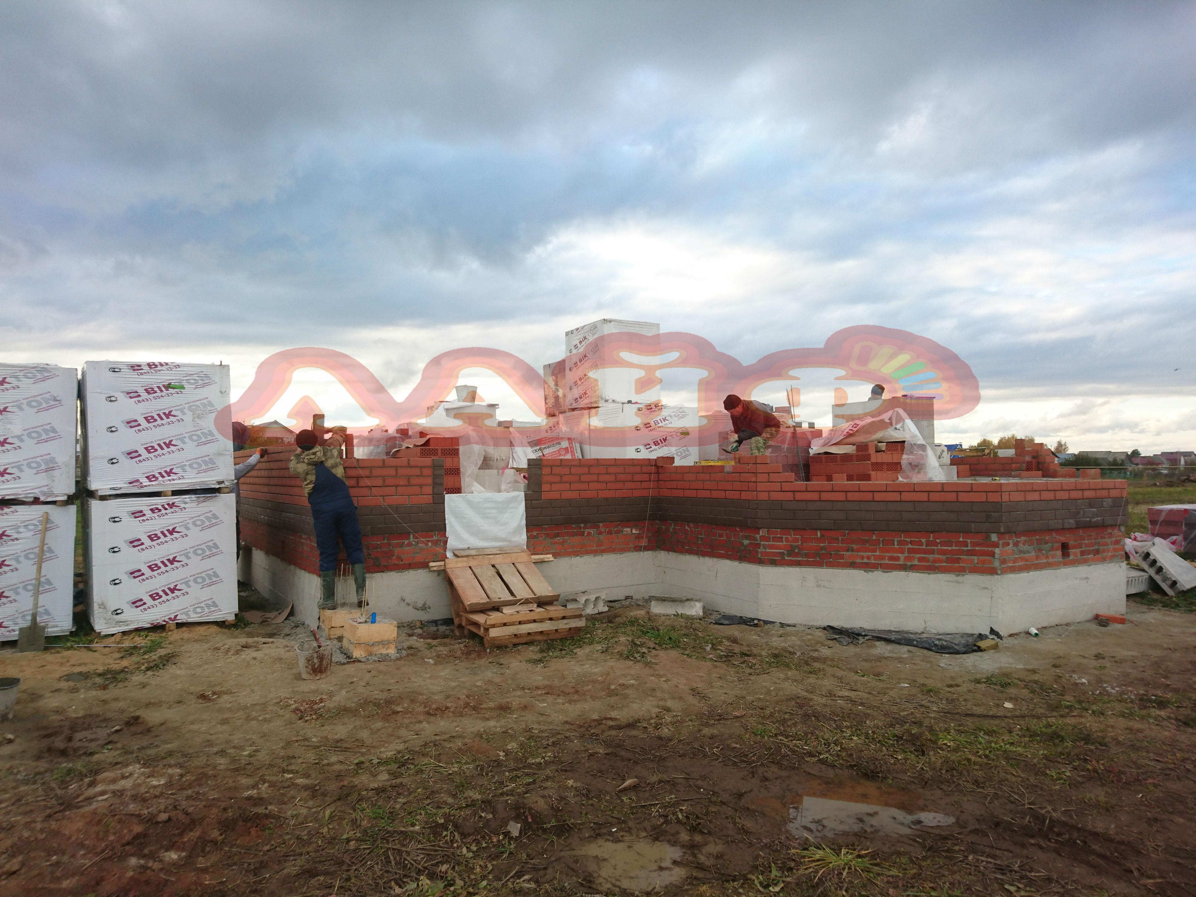 строительство дома из газобетона в йошкар оле