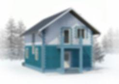 дом из теплоблоков 111 кв м