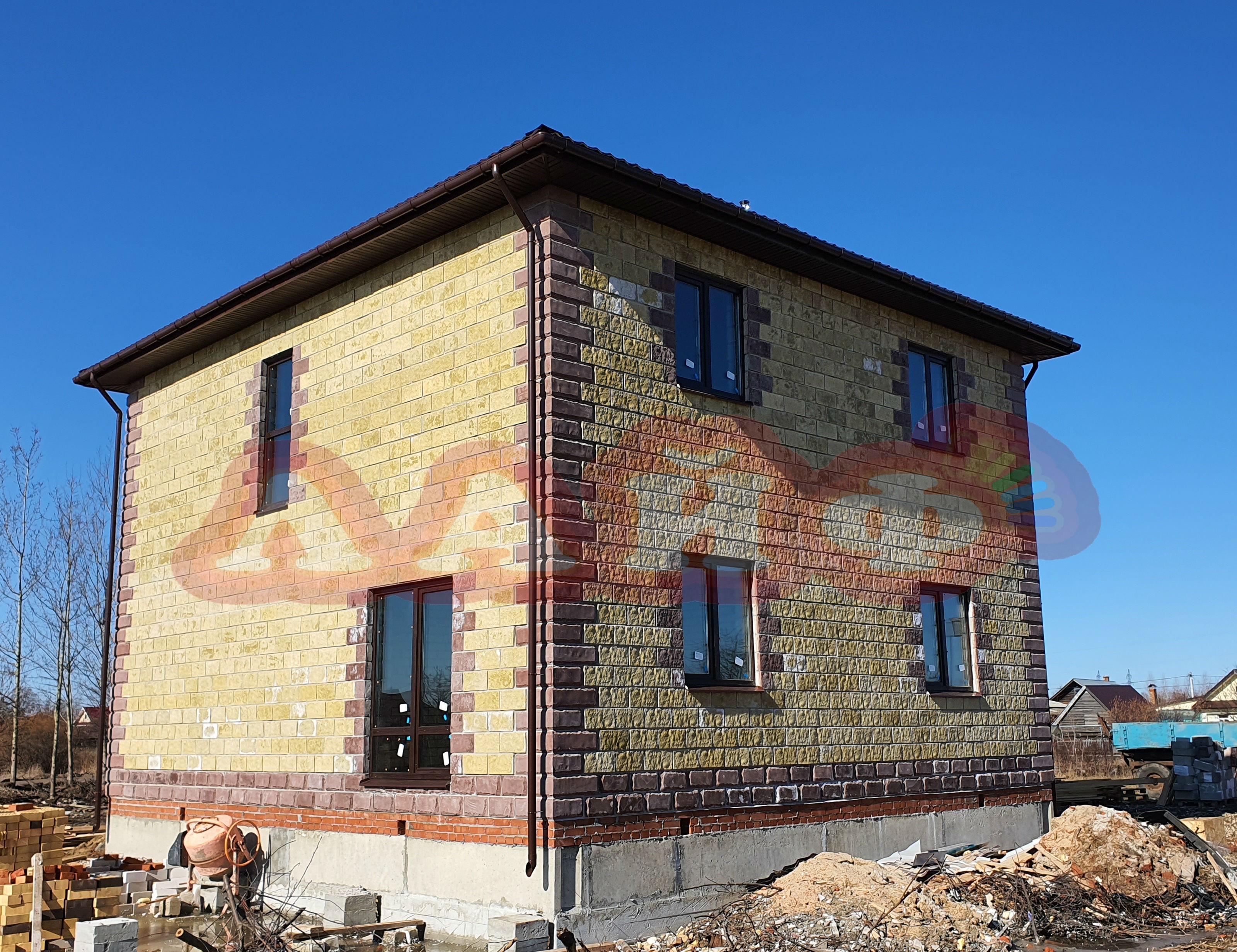 строительство дома из теплоблоков в мари