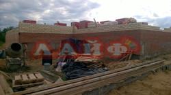 Возведение стен из кирпича ООО Лайф