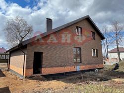 дом из кирпича баварская кладка