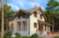дом мансардный 120 кв м