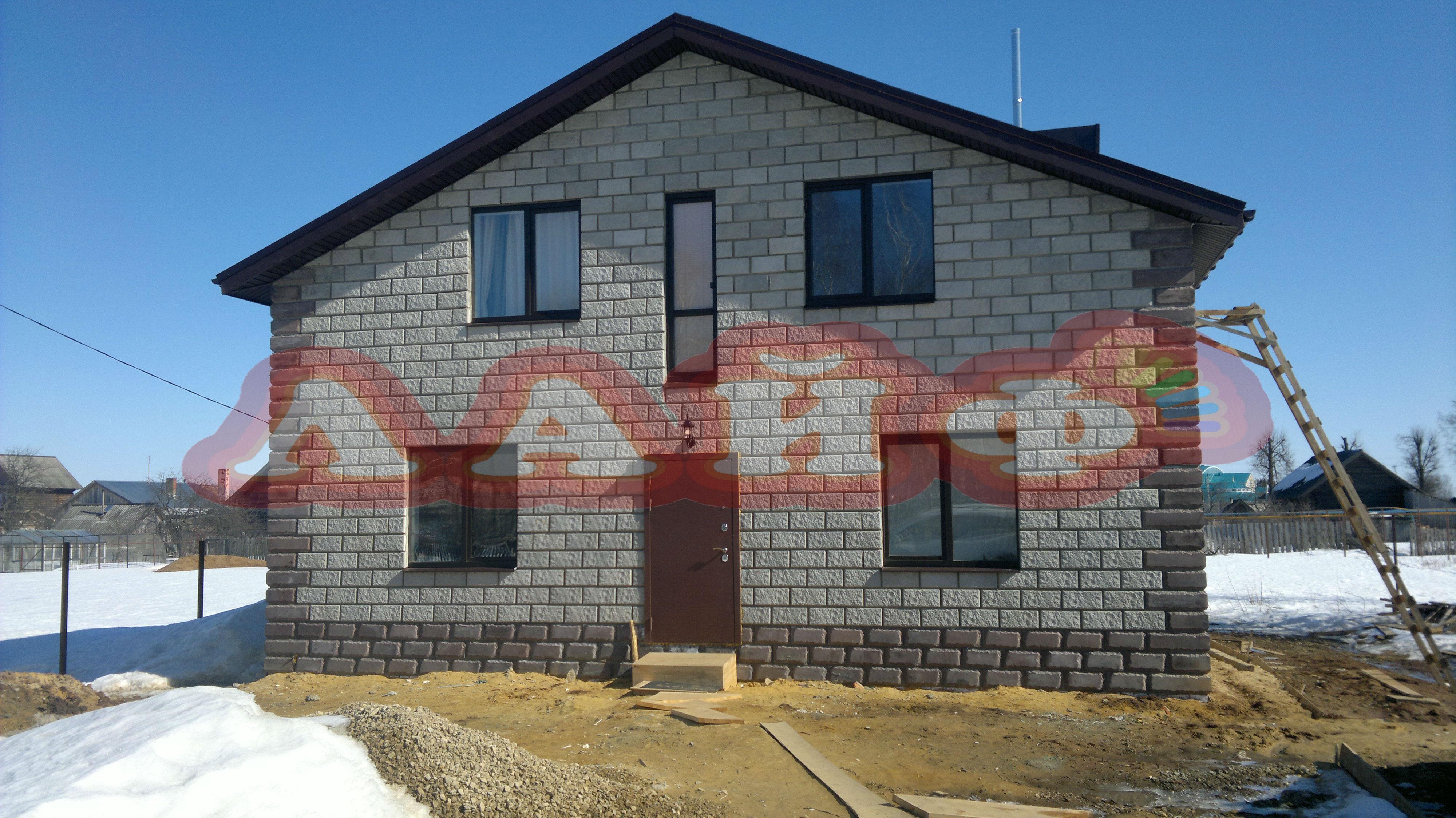 Строительство домов из теплоблоков