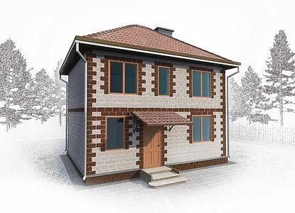 дом полноэтажный 84 кв м