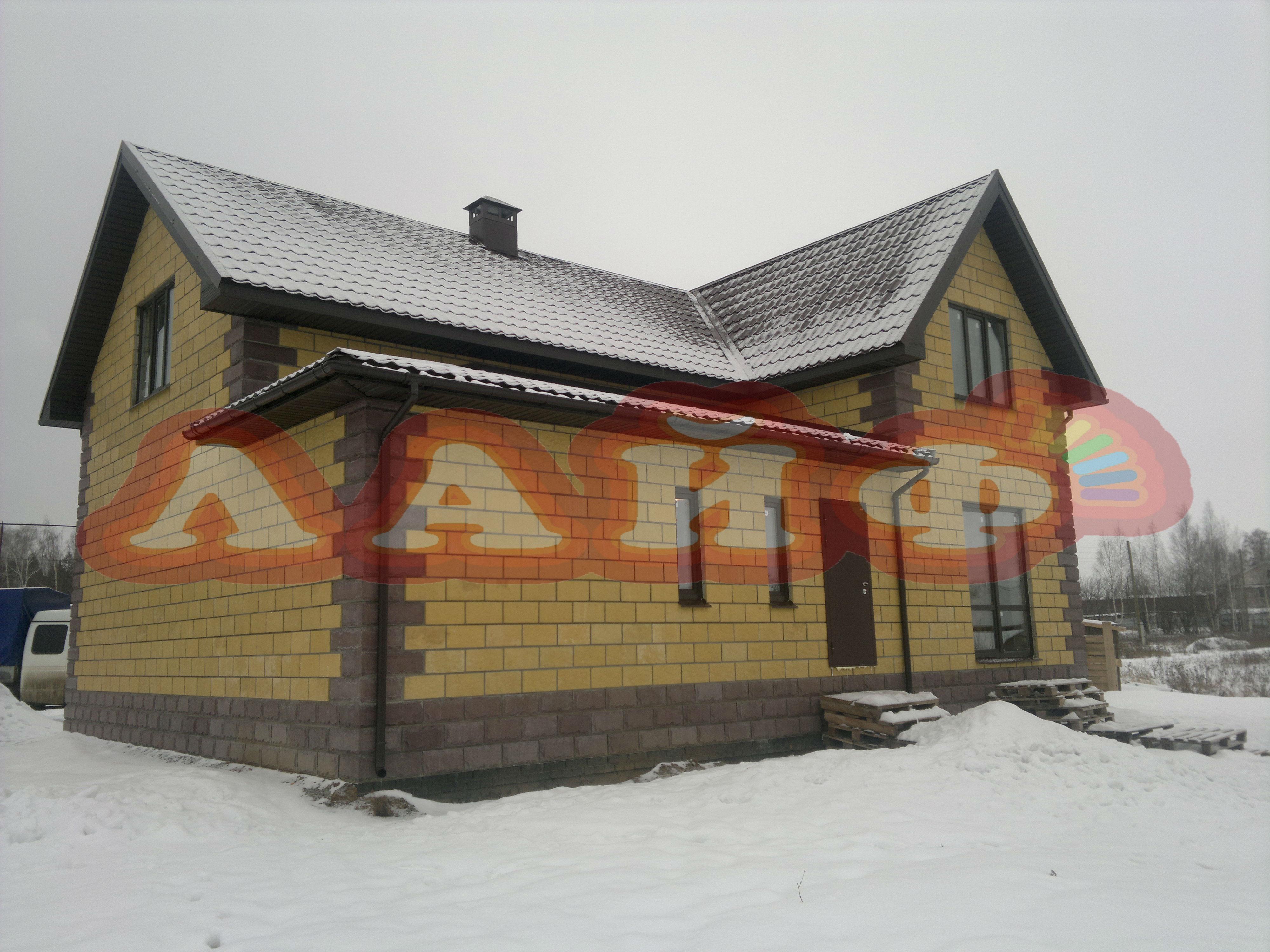 Дом из теплоблоков Лайф