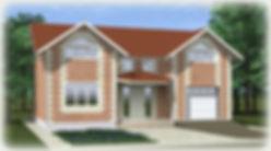 дом из теплоблоков с гаражом 170 кв м