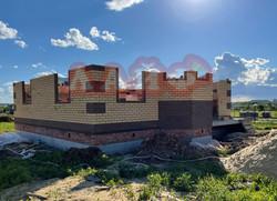 возведение стен из кирпича и блоков