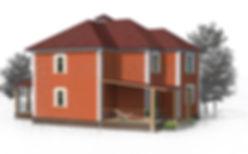 дом двухэтажный 143 кв м