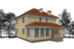 дом с террасой 160 кв м