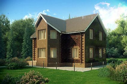 дом двухэтажный 178 кв м