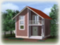 дом мансардный 65 кв м