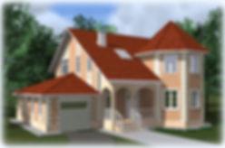 дом из теплоблоков с гаражом 178 кв м