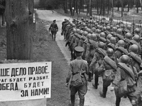 Герои Отечественной войны вечно живут в нашей памяти