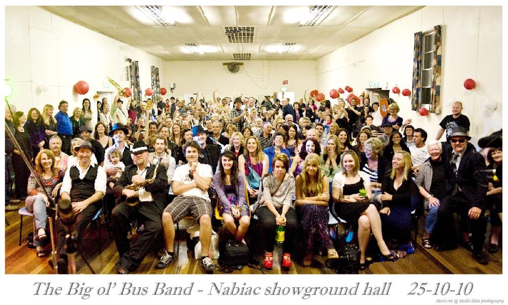 The Big Ol Bus Band, Nabiac Hall