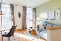 Sophienpalais- Wohnzimmer - offen modern