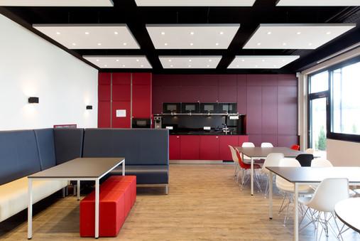 Büroraum Architektur in einem Industriebau