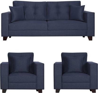 Comforte - Blue fabric 5 Seater Sofa