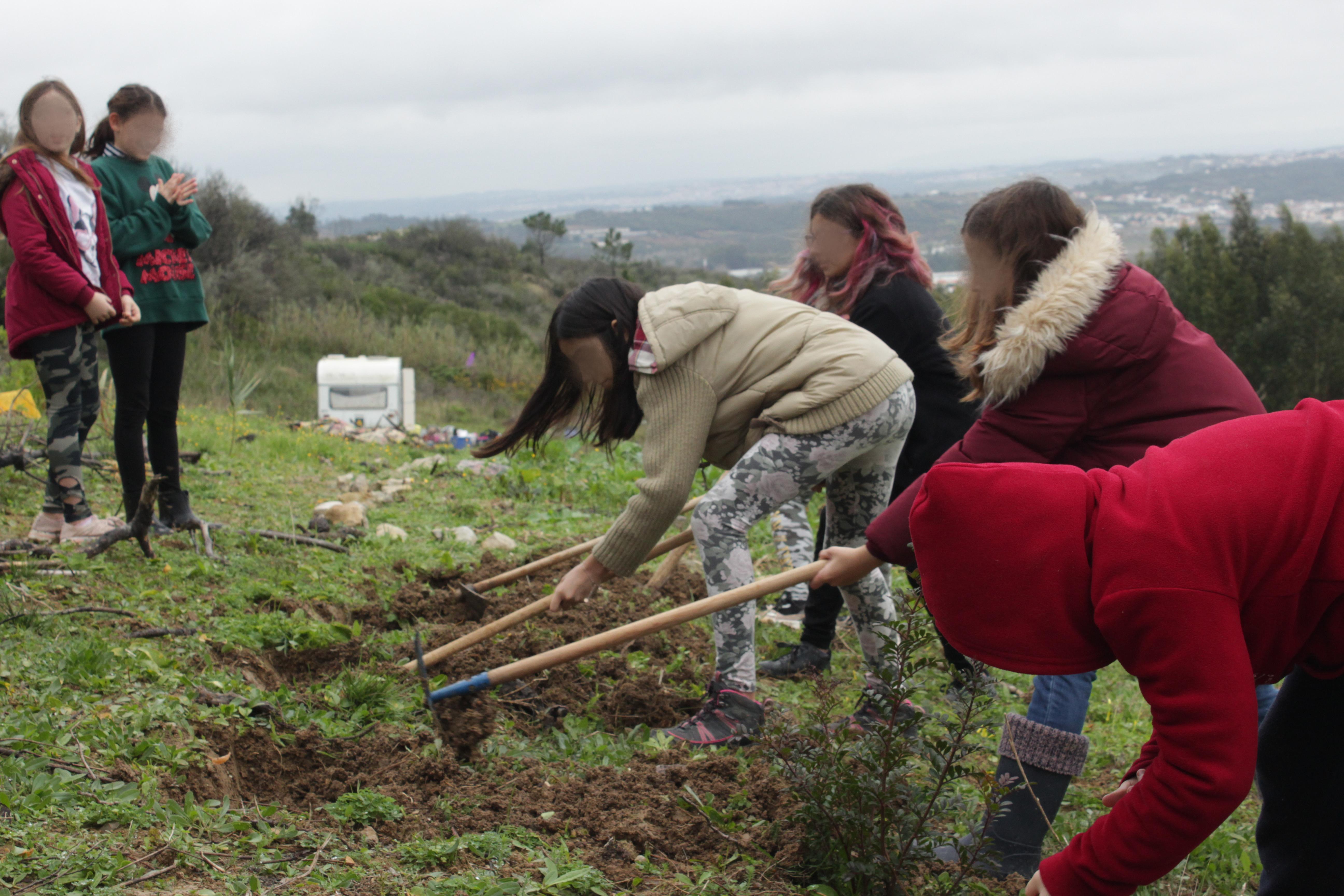 Sobreiro team start digging theswale