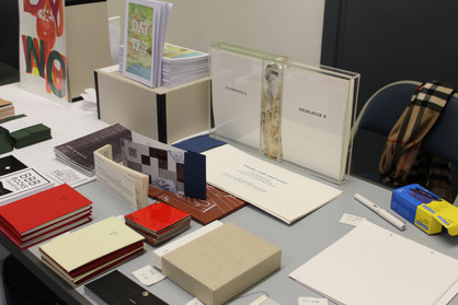 A new comer goes to two debuts: UCL Small Press event and SoB Book Arts day