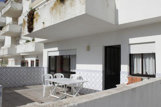 Pateo at residence in Baleal