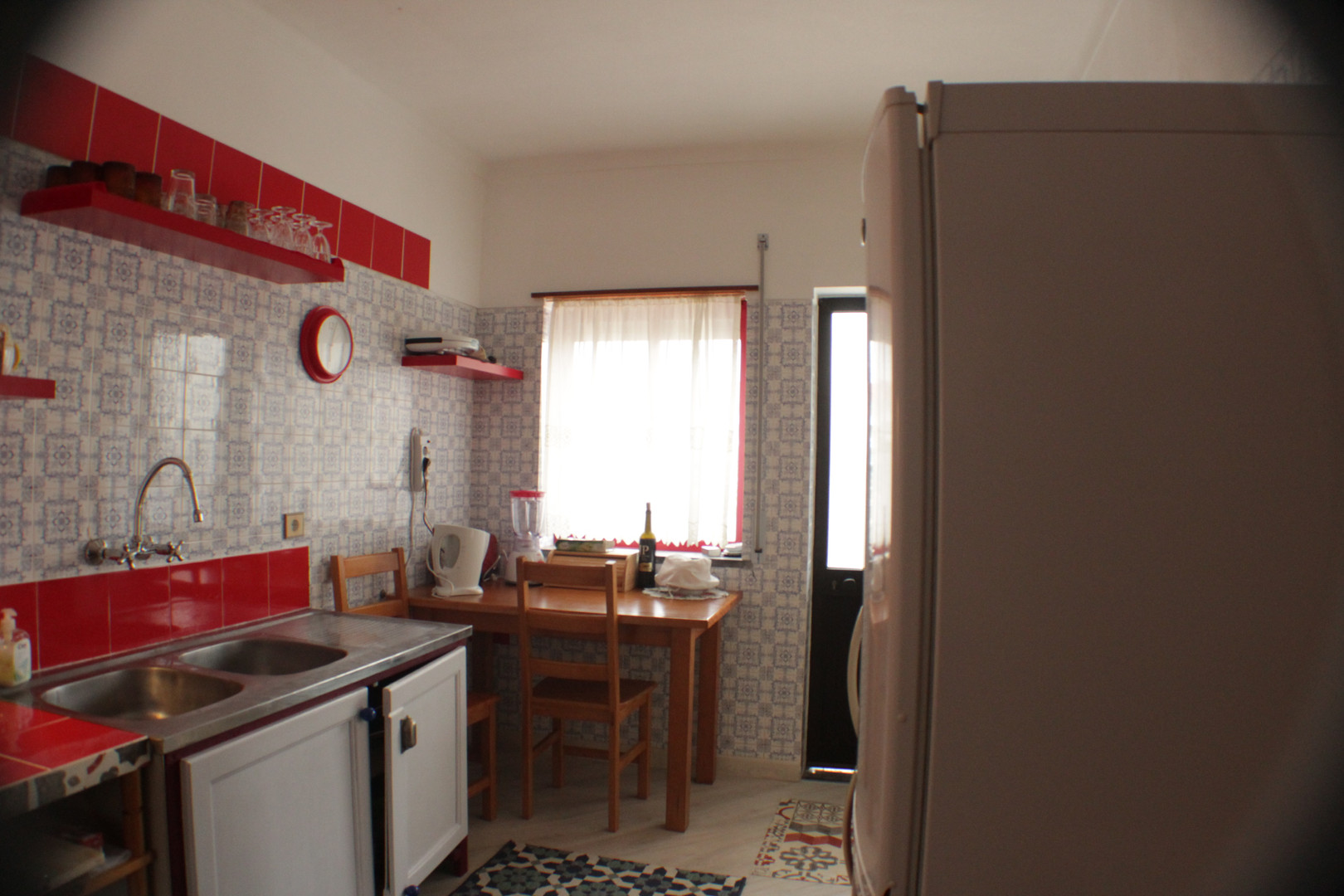 Baleal's kitchen/accomodation