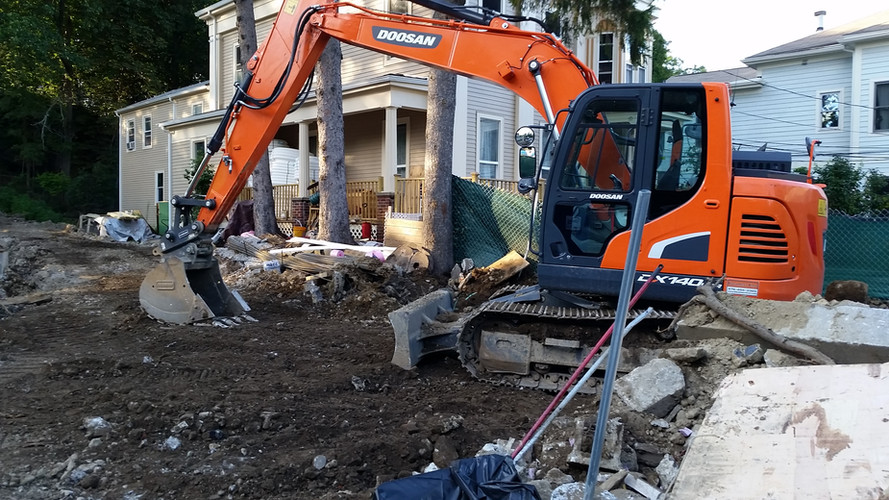 In House Excavation