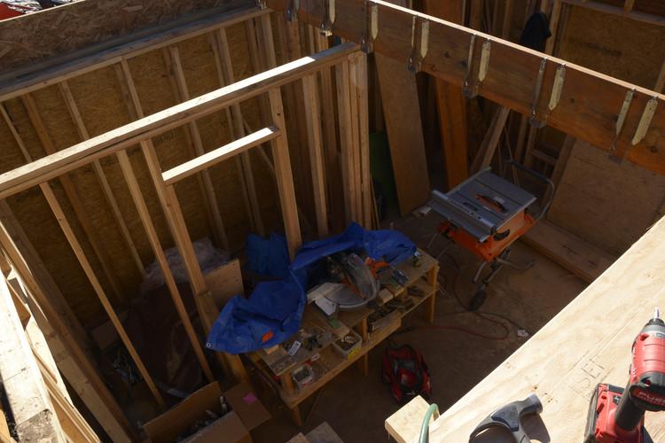 2nd floor loft Dbl wall Constr