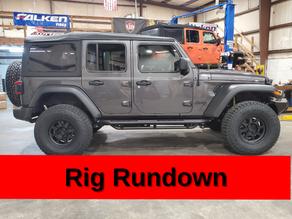 2021 Jeep JLU Diesel - Lift Kit, Wheels & Tires